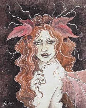Jessica Galbreth Leanan Sidhe Limited Edition Signed Print -- 11 x 14