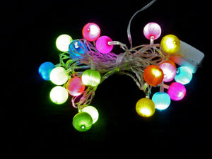 LED Rainbow Silk Electric String Lights