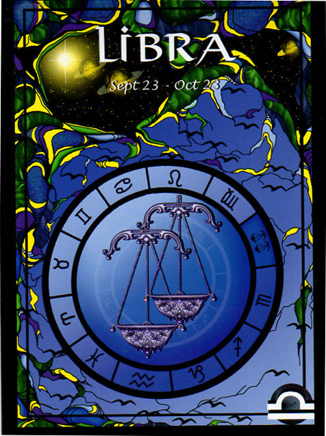Astrological Libra Greeting Card