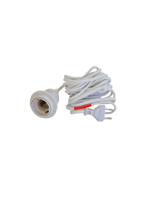15 Foot Artecnica Rubber Light Power Cord with Toggle Switch