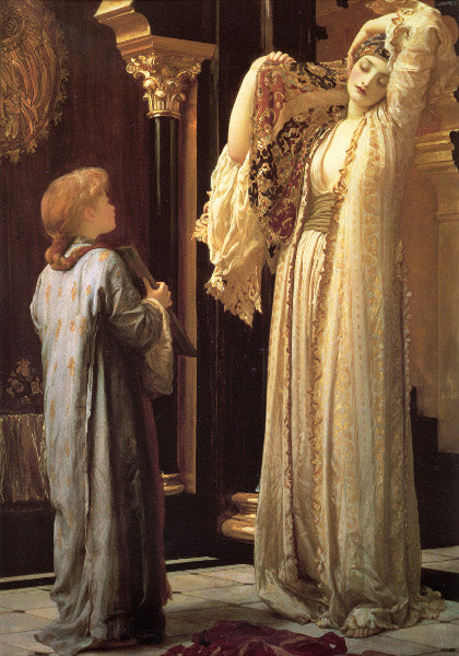 Frederic Leighton Light of the Harem Art Card