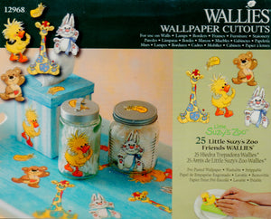 Wallies Little Suzys Zoo Friends Wallpaper Cutouts