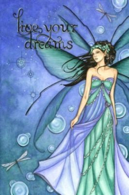 Jessica Galbreth Ceramic Tile Art -- Live Your Dreams