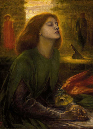 Dante Gabriel Rossetti The Longing Art Card