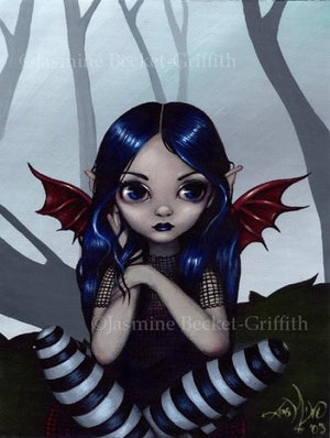 Jasmine Becket Griffith Lost but not Worried Fairy Postcard