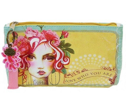 Roses Love Who You Are Woman Accessory Bag Small