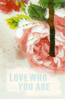 Papaya Love Who You Are Postcard