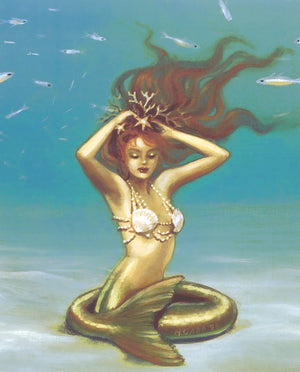 Maxine Gadd Lyria Mermaid Print
