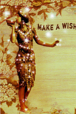 Papaya Make a Wish Postcard