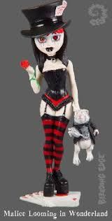 Begoths Malice Looming in Wonderland Gothic Doll -- Series 4