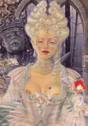 Maxine Gadd Greeting Card -- Marie Antoinette