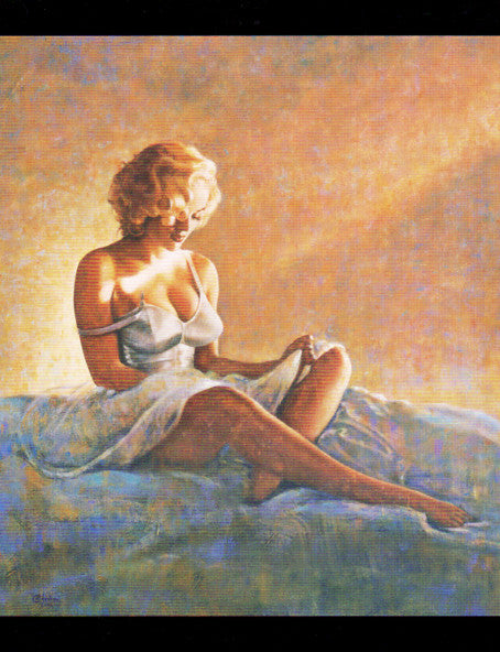 Marilyn Monroe Note Card by Olivia De Berardinis