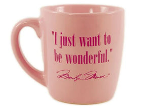 4 oz Marilyn Monroe Wonderful Mini Mug by Vandor