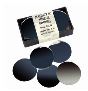 Medium Magnetic Round Mirrors -- 2 Inches