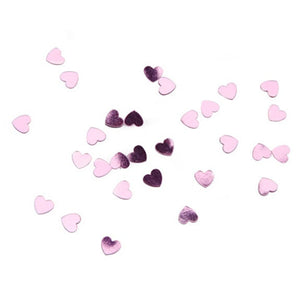 10 Packs Metallic Pink  Confetti -- Wedding Party Favor -- Enough for 20 Wedding Guests