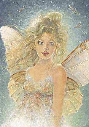 Maxine Gadd Mirabelle Fairy Greeting Card