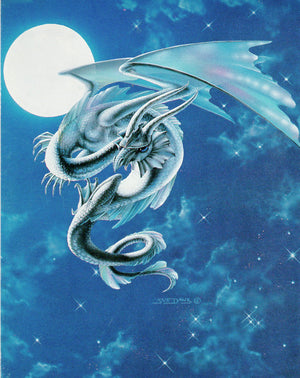 Susan Dawe Moon Dragon Greeting Card