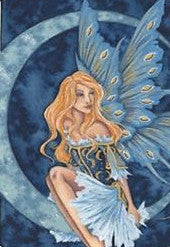 Amy Brown Moon Jewel Fairy Print -- Limited Edition