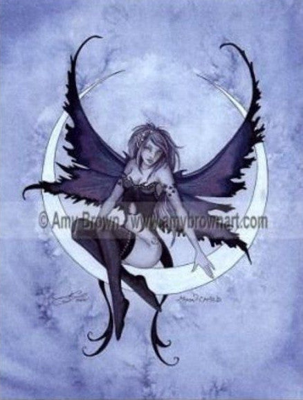 Amy Brown Moon Child Fairy Ceramic Tile Art