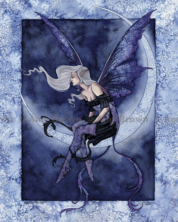 Amy Brown Moonsprite Fairy Postcard