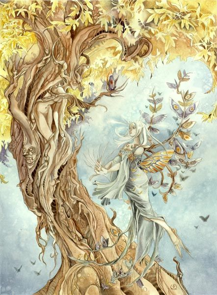 Stephanie Law Mothqueen III Print Kindred Spirits