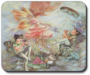 Musical Fairies Mouse Pad