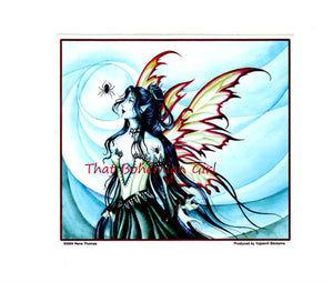 Nene Thomas Arachne Spider Fairy Sticker Decal