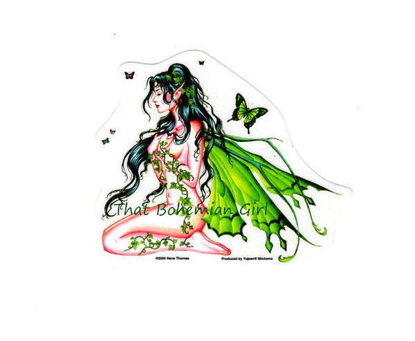 Nene Thomas Ivy Fairy Die Cut Sticker Decal