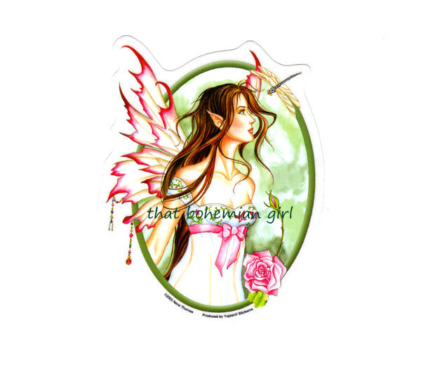 Nene Thomas Morning Dew Fairy Die Cut Sticker Decal