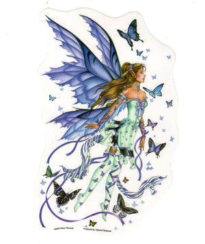 Nene Thomas LARGE Lavender Serenade Fairy Die Cut Sticker Decal