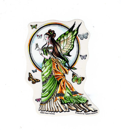 Nene Thomas Regal Beauty Fairy Butterflies Die Cut Sticker Decal