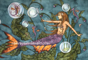 Amy Brown Neptunes Daughter Mermaid Print -- Limited Edition