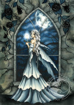Jessica Galbreth Nightfall Fairy Cross Stitch Pattern Chart