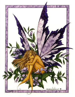 Amy Brown Periwinkle Fairy Postcard