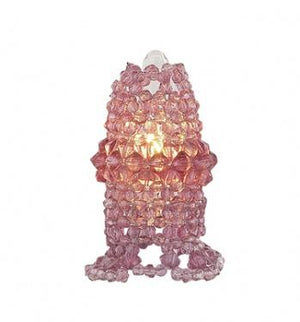 Colored Light Bulb Beaded Covers in 4 Colors