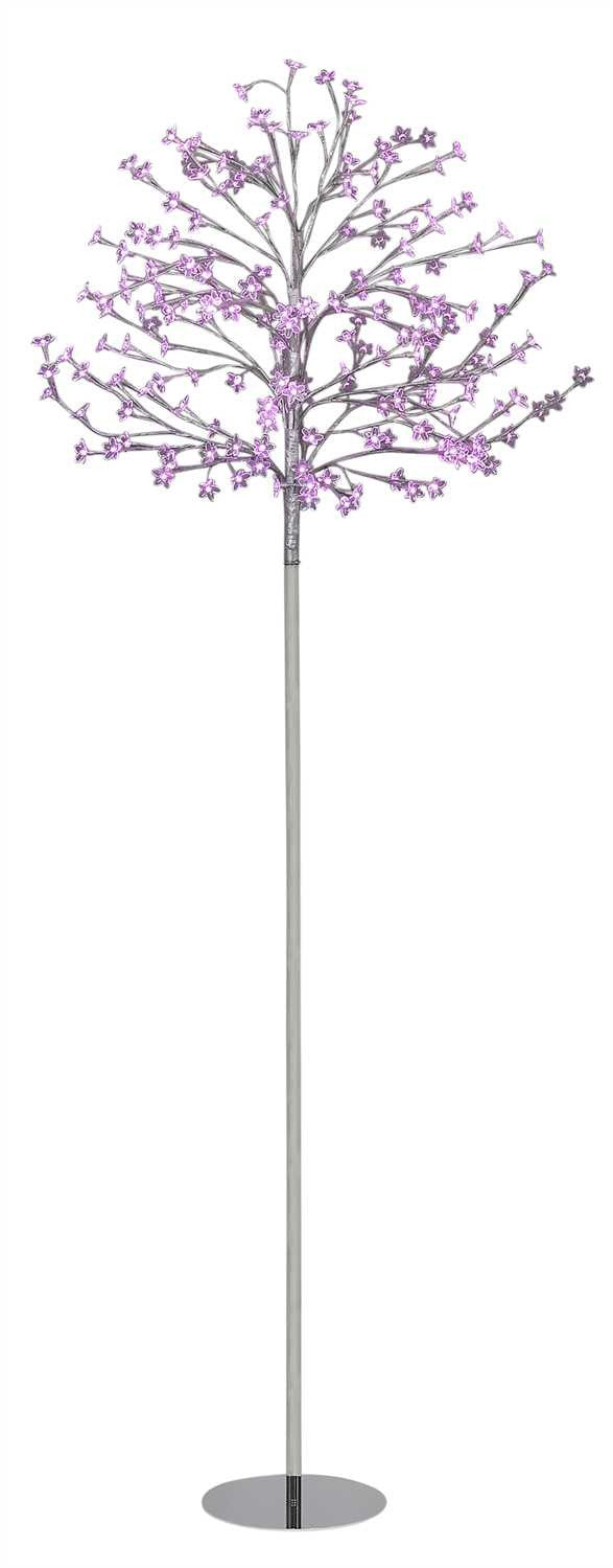 LED Pink Lights Flowering Blossoms Wedding Tree -- 9 Feet Tall