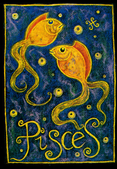 Pisces Note Card