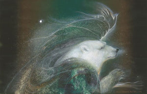 Susan Seddon Boulet Playing with the North Wind Greeting Card
