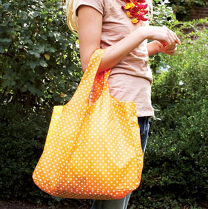 Yellow Polka Dot Bag