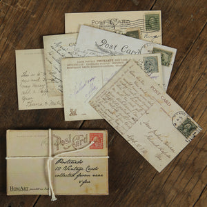 12 Vintage Reproduction Postcards