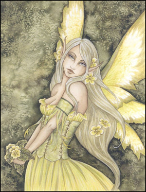 Amy Brown Primrose Fairy Postcard