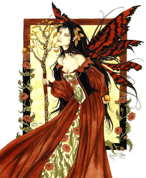 Amy Brown Queen Mab Fairy Print -- Limited Edition