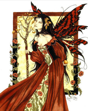 Amy Brown Queen Mab Fairy Postcard