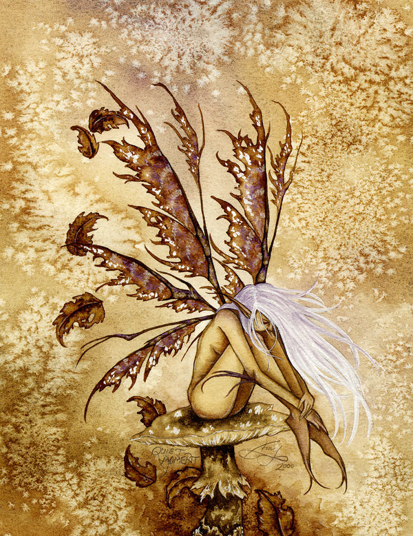 Amy Brown Quiet Moment Fairy Print -- Limited Edition