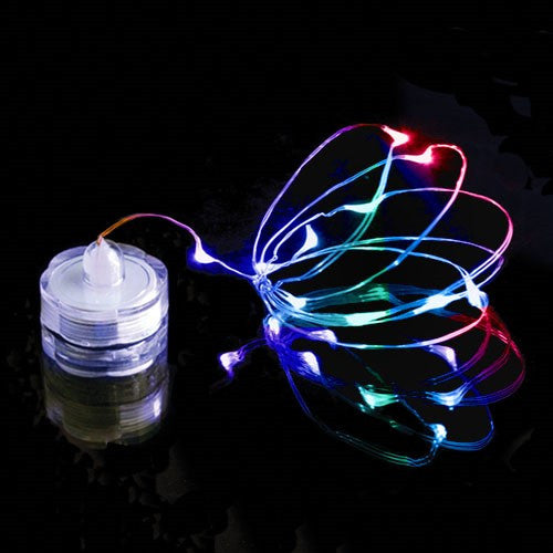 Submersible Multi  Color Changing Wire Lights
