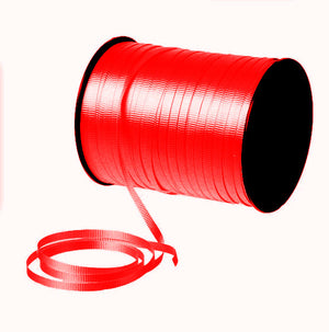 Red Curling Ribbon -- 500 Yards