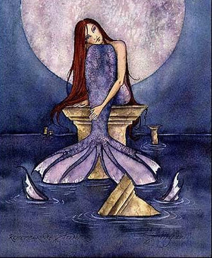 Amy Brown Remembering Atlantis Mermaid Print -- Limited Edition 11 x 14