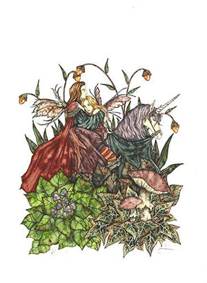 Amy Brown Rescued Fairy Print