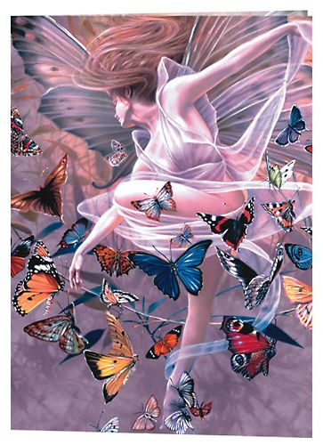 Sheila Wolk Revelation Fairy Cross Stitch Pattern Chart