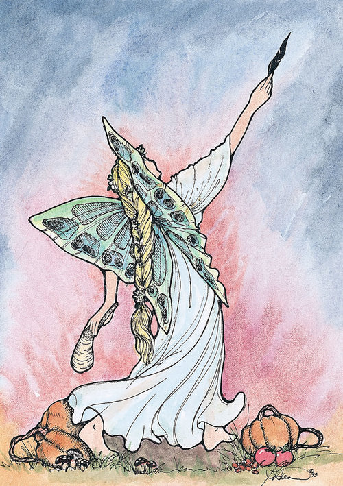 Karen Bagnard Samhain Fairy Greeting Card